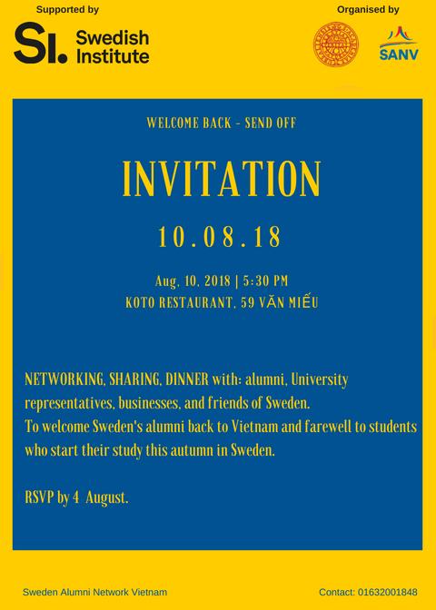 Event calendar - Uppsala University, Sweden