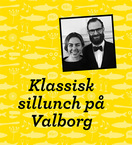 Klassisk sillunch på Sista april