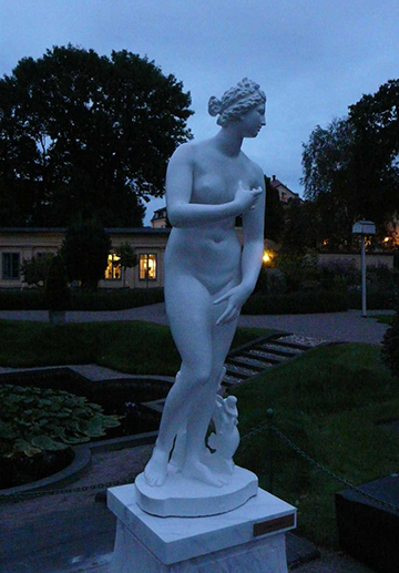 The Culture Night in the Linnaeus Garden