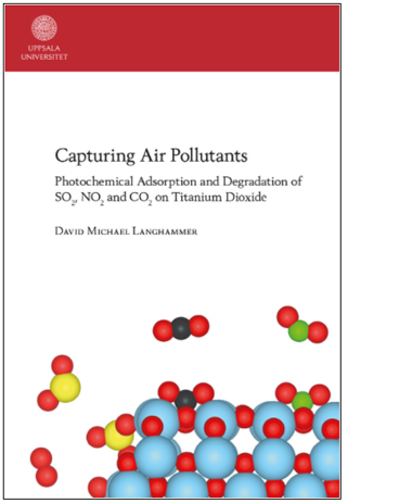 Dissertation: Capturing Air Pollutants: Photochemical Adsorption and Degradation of SO2, NO2 and CO2 on Titanium Dioxide